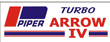 A223 PIPER TURBO ARROW IV Airplane banner hangar Aircraft signs