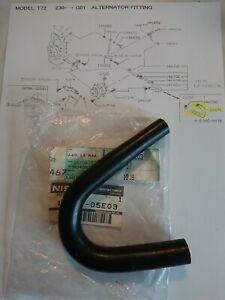 Nissan Bluebird T12 T72,LD20, alternator oil return pipe, new genuine part.(51)
