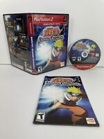 Naruto: Uzumaki Chronicles Complete Tested PS2 (Sony PlayStation 2, 2006)