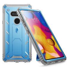Full Coverage Shockproof Cover Case For LG V40 / LG V40 ThinQ (2018) Blue