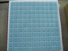 Bulk Buy - Crystal Glass Mosaic Tile Pool Spa Kitchen Bathroom Feature Wall Aqua
