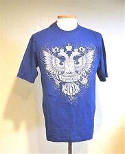 """Russian T-Shirt """" Russian Eagle"""" Blue Xl"""