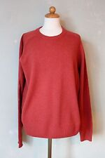 Redgreen Pullover orange rot Herren Strick warm tolles Material Gr. L (S42)*