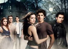 "Teen Wolf Tv Show Fabric poster 17"" x13"" Decor 08"