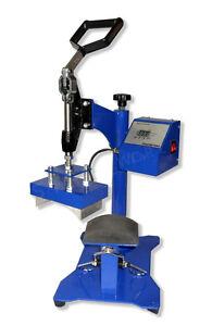 A GRADE CAP Heat Press Machine CP3815 8 x 14cm Sublimation T-shirt Printing