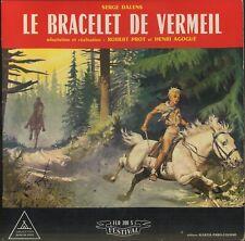 """Serge DALENS Le bracelet de vermeil French 10"""" FESTIVAL FLD 208 Signe de Piste"""