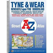 Tyne & Wear Street Atlas by Geographers A-Z Map Co. Ltd.,
