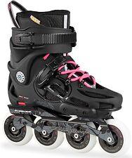 Rollerblade 2016 Twister 80 Women's Black/Pink Inline Skates UK 6