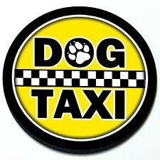Dog Taxi -  Funny MINI Cooper Magnetic Grill Grille Badge