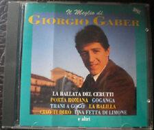 CD Il meglio di Giorgio Gaber, Buone ottime condizioni