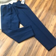 Womens Navy Blue Bend Over Levi Strauss Co Dress Pants Size 12 Short Nwt