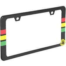 Body Glove RASTA License Plate Frame - NEW - Painted Metal Sturdy Holder 70334-8
