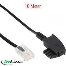 10m TAE-F Kabel DSL-Router, TAE-F Stecker ,RJ45 8P2C,VDSL,Fritzbox,EasyBox 10(76