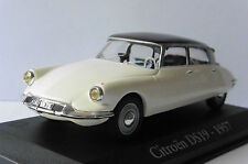 CITROEN DS 19 1957 WHITE BLACK ROOF RBA COLLECTABLES 1/43 WEISS BIANCA BLANCHE