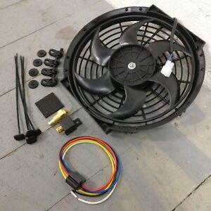 1979 Chevrolet Chevette 10 Inch Black Radiator Fan electric cooling housing