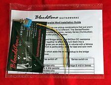 BLOODSTONE Strat Series/Parallel Guitar Tone Upgrade Kit - Adds Humbucker mode