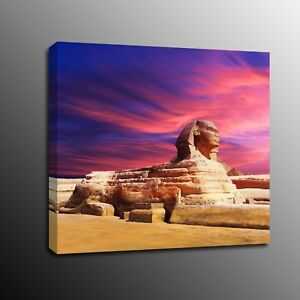 HD Canvas Prints Wall Art Egyptian sphinx Painting Picture Home Decor-No Frame