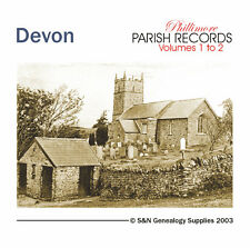 Devon Parish Registers - Complete Phillimore Marriages Records
