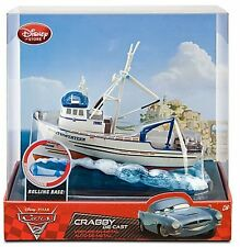 Pixar Disney Story Cars 2 Crabby Boat Die Cast SOLD OUT