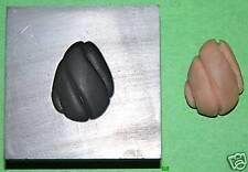 Pendant Base Push Mold 3/4x1 Graphite Glass Lampwork