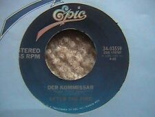 """AFTER THE FIRE """"DER KOMMISSAR"""" / """"DANCING IN THE SHADOWS"""" 7"""" 45"""