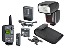 Godox VING V850 Li-ion Flash Speedlite w/ FT-16S Trigger Receiver Set for Canon