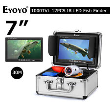 Eyoyo 30M Underwater Fishing Camera 1000TVL IP68 4500mAh Fish Finder for Sea Ice