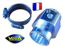 Connecteur T Alu pour sonde de température d'eau diamètre intérieur durite 28 mm