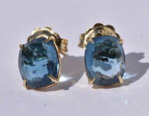 Marco Bicego Blue Topaz Earrings 18k