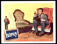 HARVEY, 1950 JAMES STEWART LOBBY CARD - CHAIR SCENE