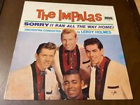 The Impalas~Sorry (I ran all the way home)~VG+ Rebel Records~Rare Doo Wop~50s LP