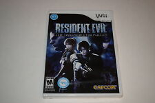 Resident Evil The Darkside Chronicles Nintendo Wii Video Game New Sealed