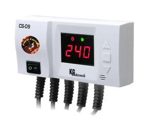 CS-09 Regelung Sonnenkollektor Pufferspeicher Swimmingpool Temperaturdifferenz