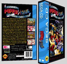 Popful Mail - Sega CD Reproduction Art DVD Case No Game