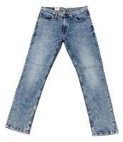 Levi's Men's 511 Slim Fit Stretch Jeans In Pickles/Light Wash/Distressed Blue