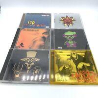 Insane Clown Posse ICP 6 CD Lot - Forgotten Freshness Terror Wheel Ringmaster