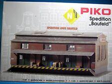 PIKO N 60015 Bausatz Spedition Baufeld neu in Originalverpackung,M 1:160,