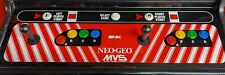 Neo Geo Arcade Standard Control Panel Overlay CPO 30x9.75 inches 6 slot machine