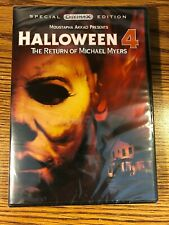 Halloween 4 Return Of Michael Myers DVD SPECIAL EDITION NEW SEALED HORROR 1987