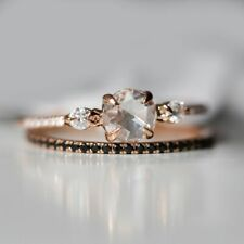Catbird Odette Swan Supreme Diamond Rose Cut Gold Ring Pave Engagement Wedding