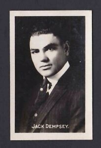1922 Jack Dempsey The Champion Sporting Champions Rookie Boxing Card #9 HOF RC
