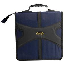 Pragmatic 320 Disc CD VCD DVD Storage Holder Case Bag Blue/Black High Quality