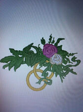 WEDDING PES EMBROIDERY DESIGNS  FOR BROTHER MACHINE .ON CD
