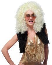 Dancing Queen 70's Disco Adult Costume Wig - Blonde