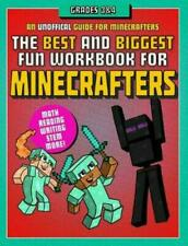 The Best and Biggest Fun Workbook for Minecrafters Grades 3 & 4: An Unoff #7992