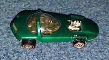 Original Hot Wheels Redline Silhouette Green 1968 Usa plus Button