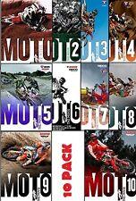 MOTO THE MOVIE - COMPLETE 10 DVD Set - 1, 2, 3, 4, 5, 6, 7, 8, 9 & 10 - MX DVD