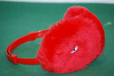 vintage invicta cuffy winter snowboard cold bag NOS earflap RED 80s deadstock