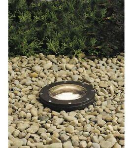 Kichler Lighting 15194AZ-Low Voltage One Light In Ground Lamp  Architectural
