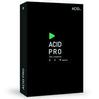 MAGIX Acid Pro 10 Academic (Download) - The Creative DAW